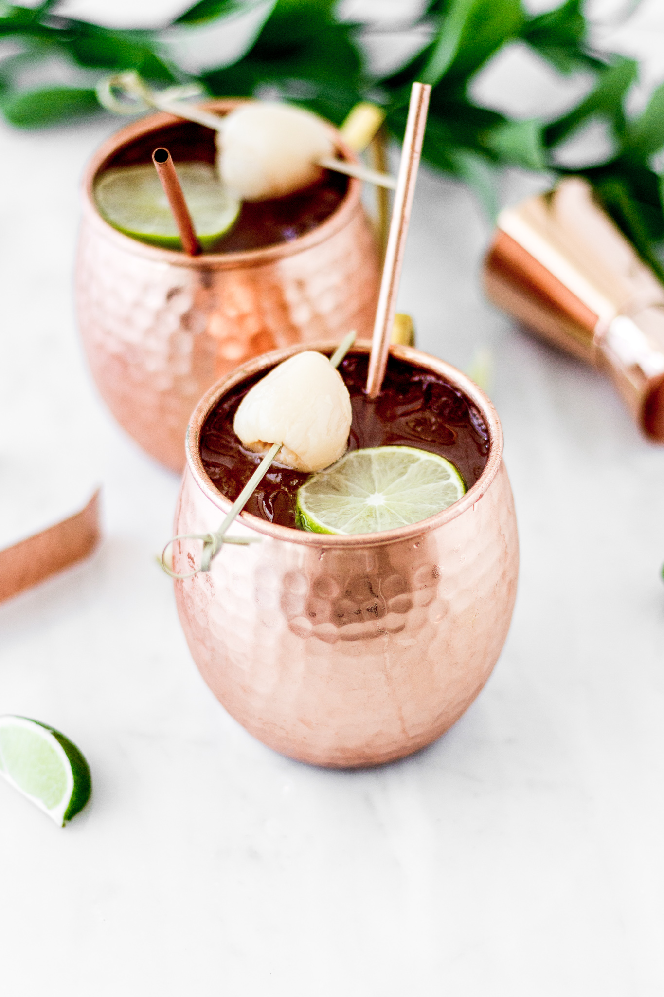 Moscow Mule De Lychee Cravings Journal