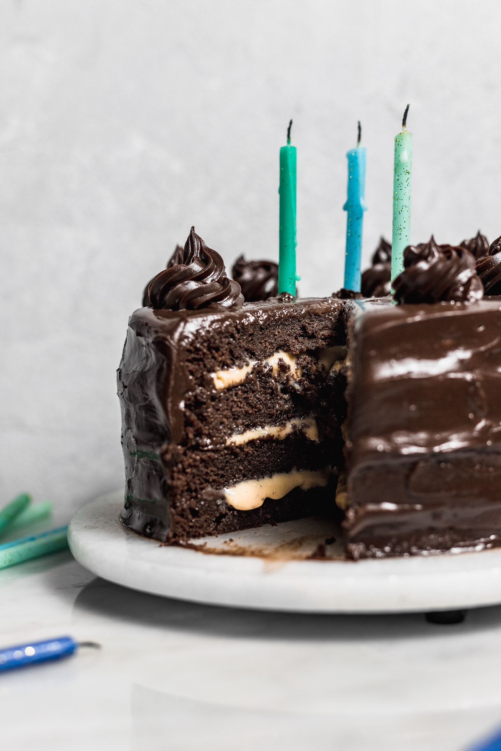 Torta de chocolate chocolatosa y deliciosa | Cravings Journal